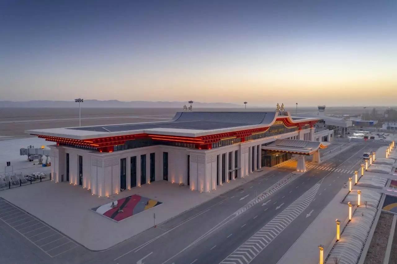 敦煌机场T3航站楼-1