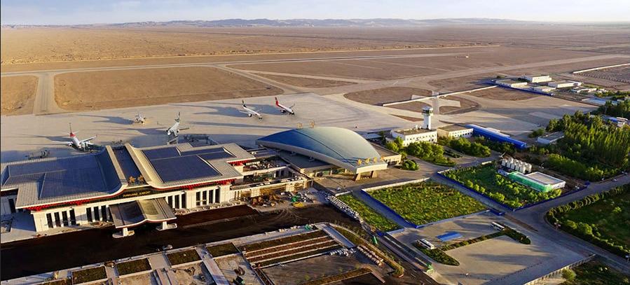 敦煌机场T3航站楼-2