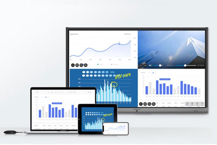 商用显示远程视频会议电子白板触摸屏电视一体机