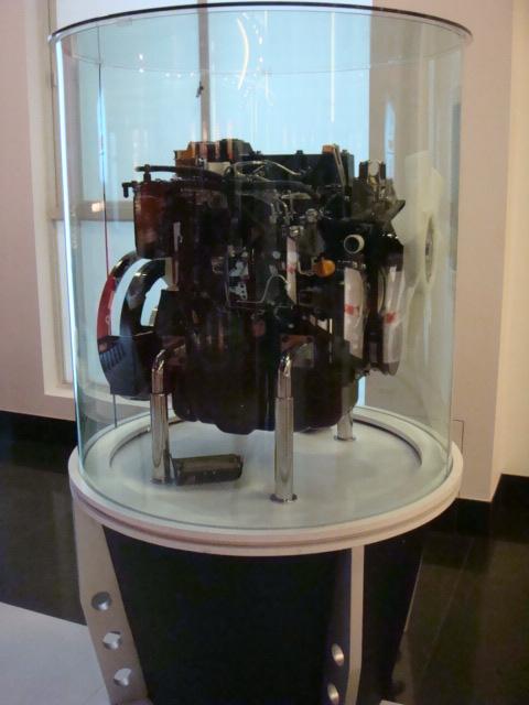 洋马发动机模型