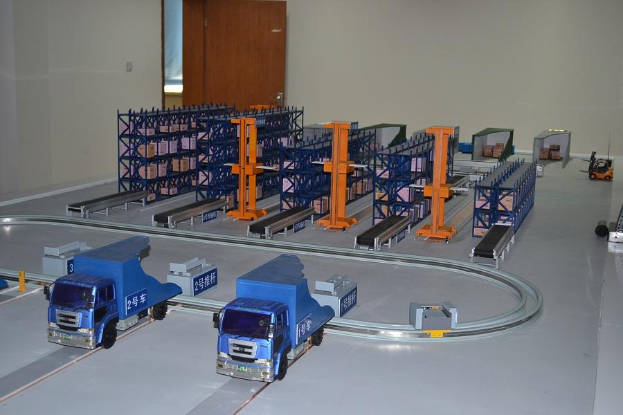 仓储分拣系统模型