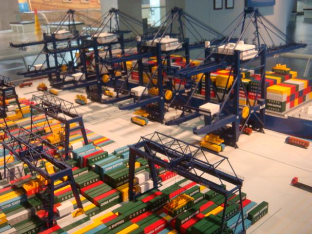 港口堆场模型1