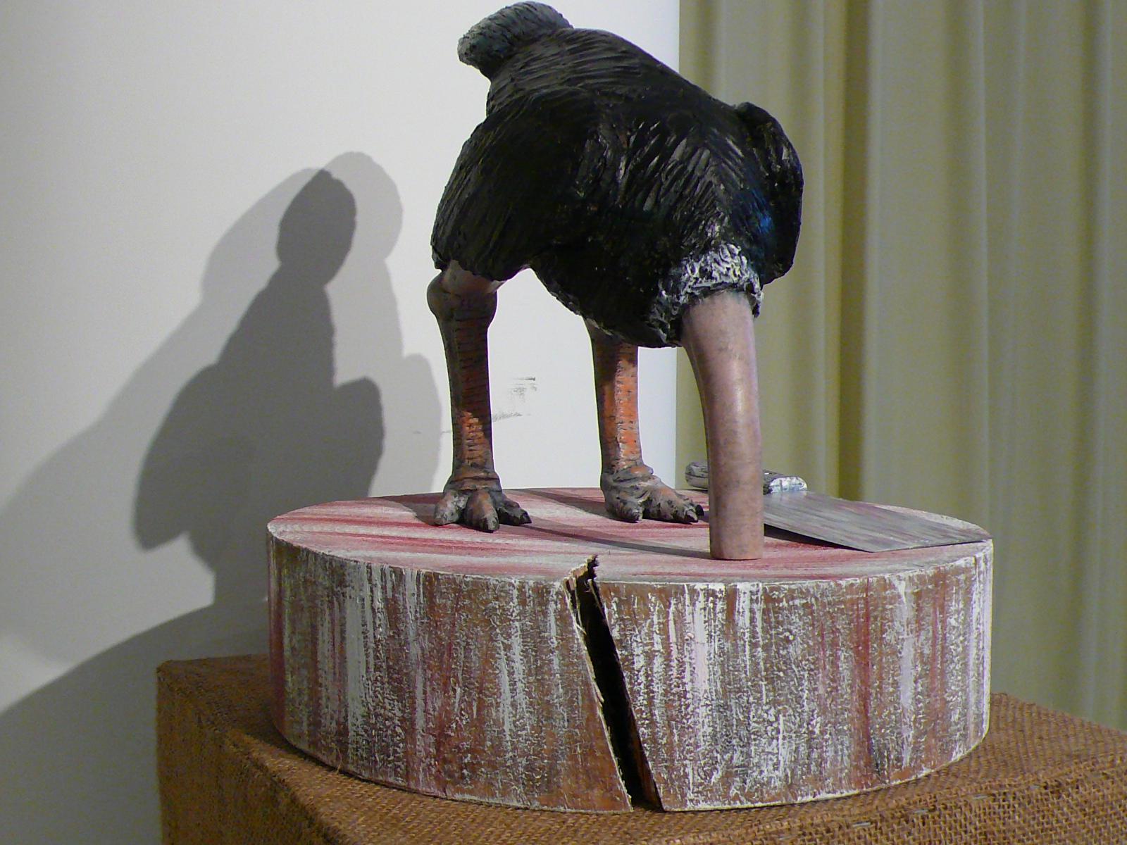 玻璃钢雕塑鸵鸟