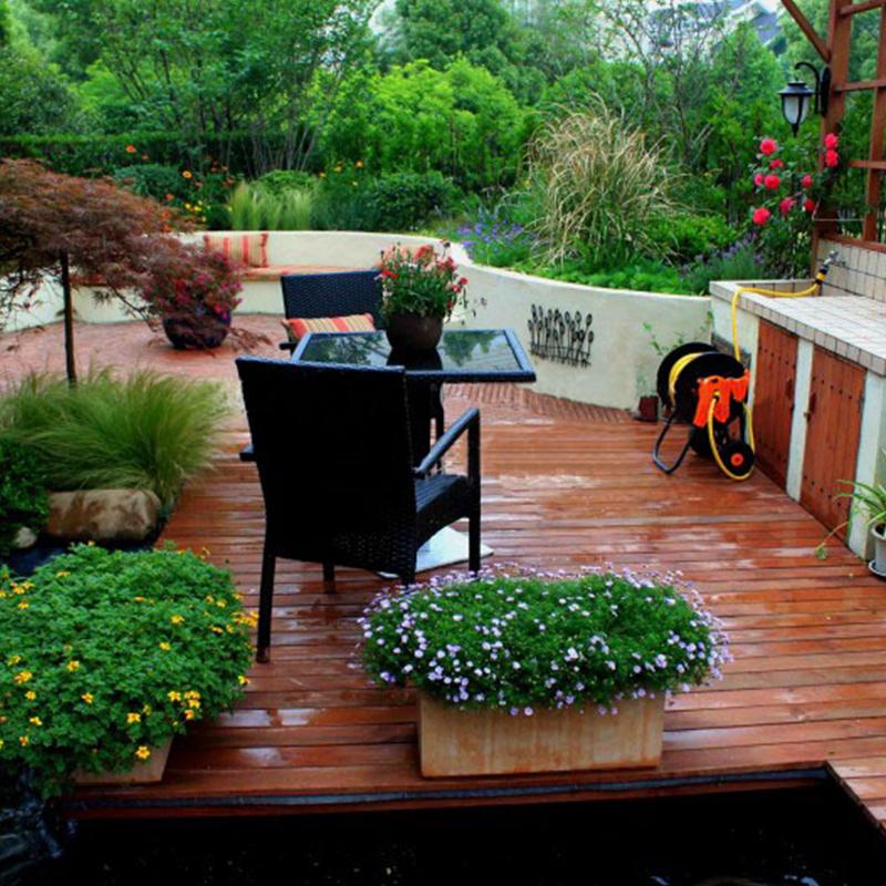 私家景观花园整装
