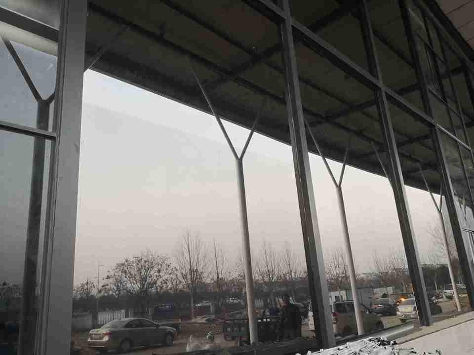 工业厂房玻璃隔热膜