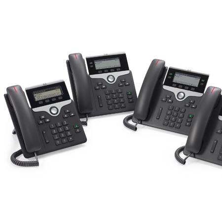 思科 IP 电话 7800 系列