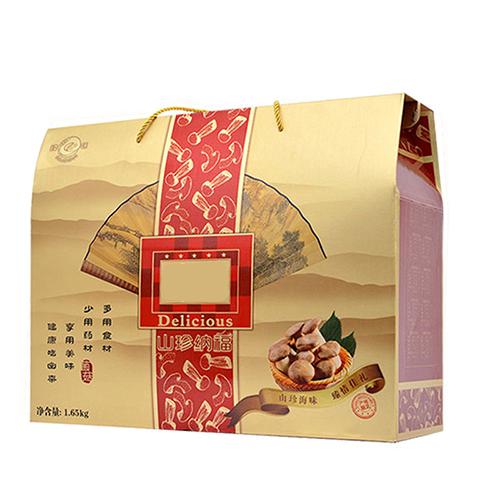 吉年纳福野山菌山珍菌类礼盒干菌干货菌菇大礼包