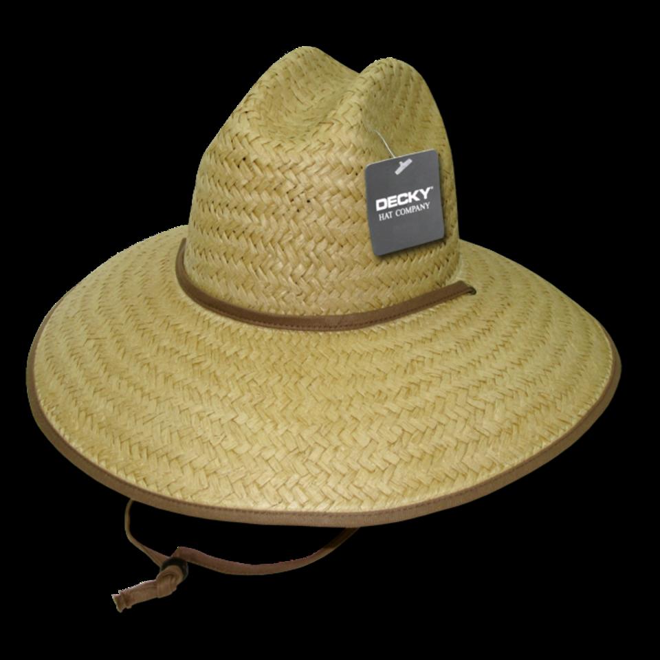 Paper Straw Lifeguard Hat