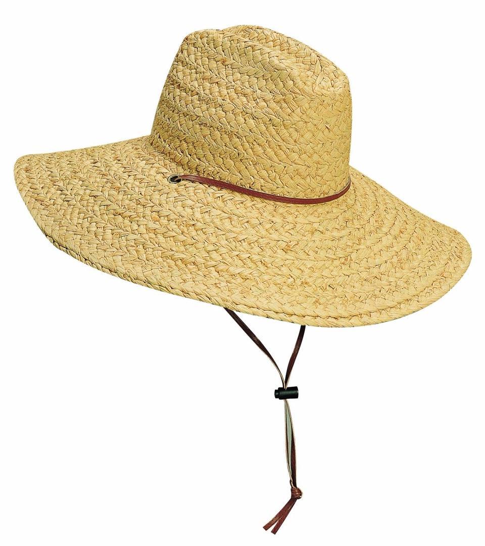 Raffia Lifeguard Hat
