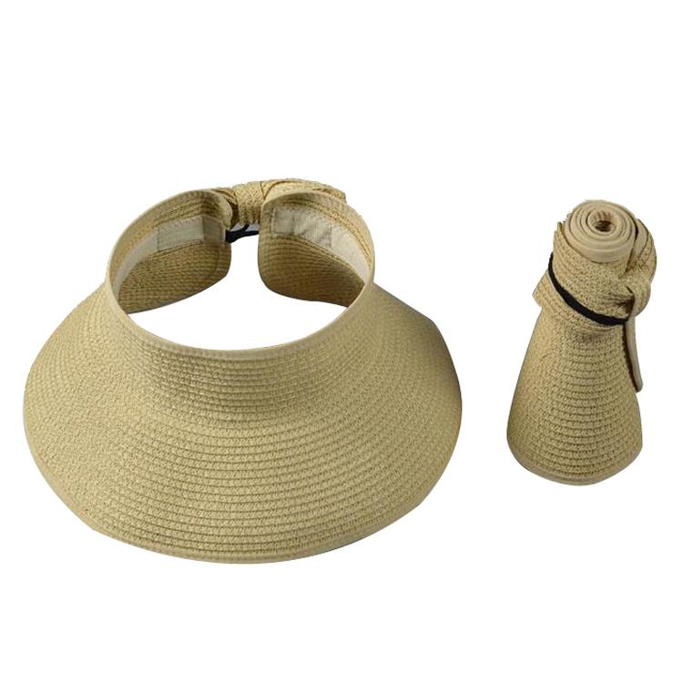 fashion custom folding straw hat