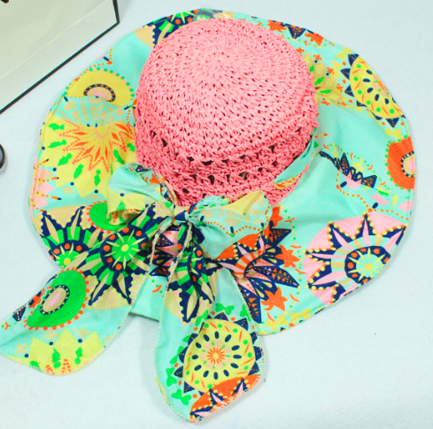Summer Beach Straw foldable hats