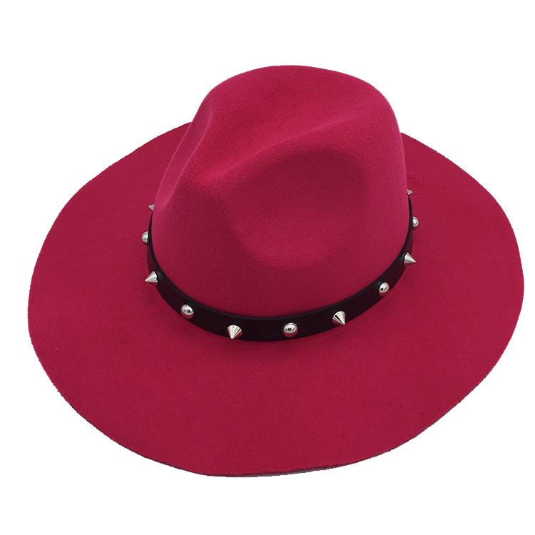 Female Adults Headwear Personalized  Felt Hillbilly Hat