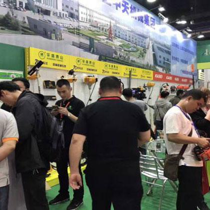 九年磨砺,2017第九届广州园林机械展再掀行业热潮
