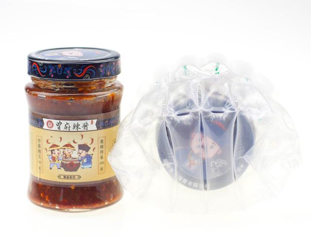 【曾府辣酱】258克玻璃瓶装×1瓶,四种口味任选