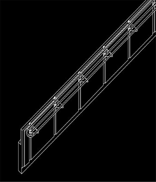 矮墙及滑道