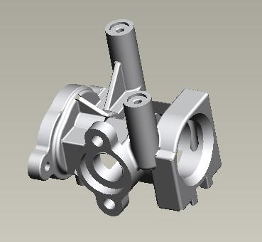 铝合金泵体