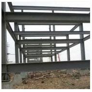 钢结构厂房骨架
